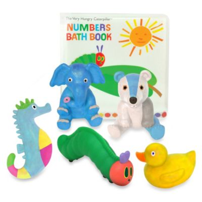 Very Hungry Caterpillar Bath Book and Squirty Gift Set