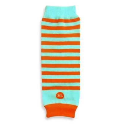 BabyLegs® Newborn Lil' Legwarmers in Orange/Aqua