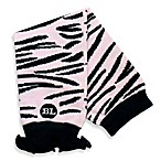 BabyLegs® Zazzy Zebra Legwarmers in Pink and Black