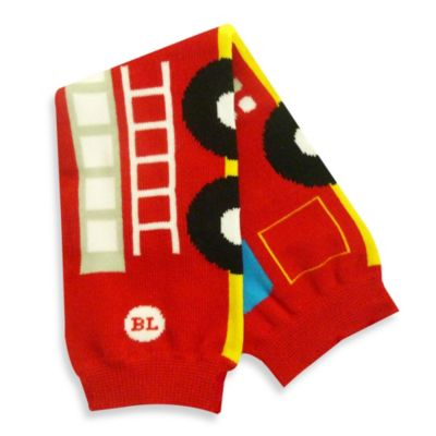Layette Accessories > BabyLegs® Fire Engine Legwarmers in Red