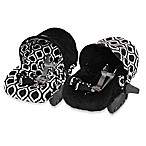 Itzy Ritzy Infant Car Seat Cover in Moroccan Nights