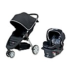Britax B-Agile Travel System in Black
