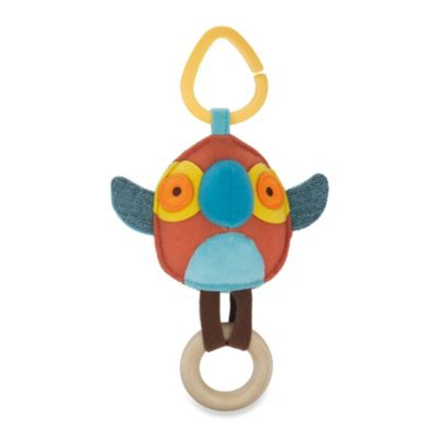 SKIP*HOP® Giraffe Safari Parrot Stroller Toy