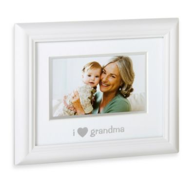 "Pearhead ""I Love Grandma"" Sentiment Picture Frame"