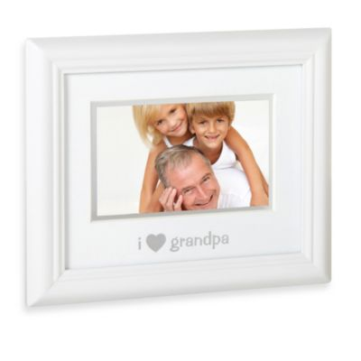 "Pearhead ""I Love Granpa"" Sentiment Picture Frame"
