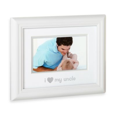 "Pearhead™ ""I Love My Uncle"" Sentiment Frame"