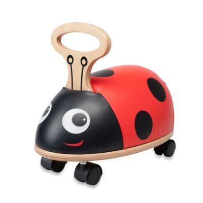 "Skipper Ride ""N"" Roll Ladybug by Kids Preferred"