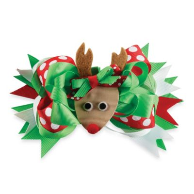 Mud Pie® Reindeer 3-in-1 Bow