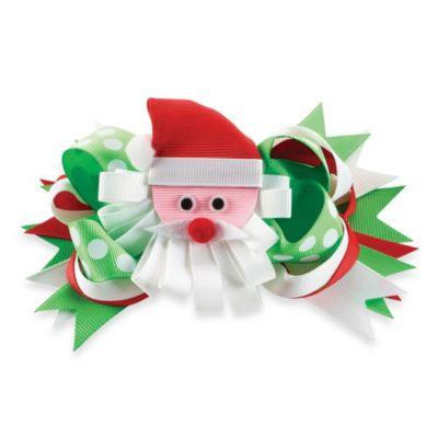 Mud Pie® Santa 3-in-1 Bow