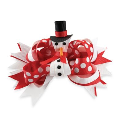 Mud Pie® Snowman 3-in-1 Bow