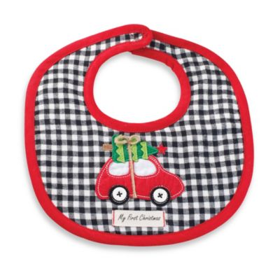 Mud Pie® Holiday Car Bib