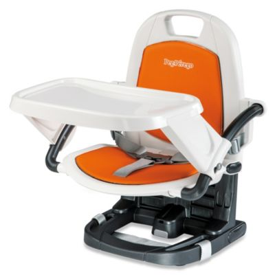 High Chairs > Peg Perego Rialto Booster Chair in Arancia