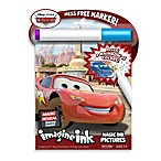 Disney Cars Magic Ink Game & Activity Book w/Mess Free Marker