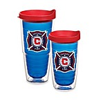 Tervis® MLS® Chicago Fire Tumbler With Lid in Sapphire