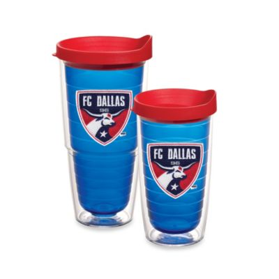 Tervis® MLS® 16-Ounce FC Dallas Tumbler With Lid in Sapphire