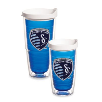 Tervis® MLS® Kansas City Sporting Tumbler With Lid in Sapphire