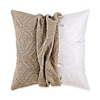 MYOP Ashbury 20-Inch Square Toss Pillow Cover in Taupe