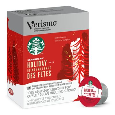 Starbucks® Verismo™ 12-Count Holiday Blend Brewed Coffee Pods