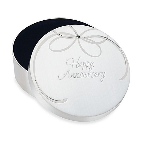 Reed & Barton Happy Anniversary Keepsake Box