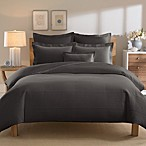 Real Simple® Linear Duvet Cover in Charcoal