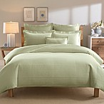Real Simple® Linear Duvet Cover in Sage