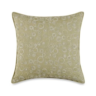 Real Simple® Linear 16-Inch Square Decorative Pillow in Sage