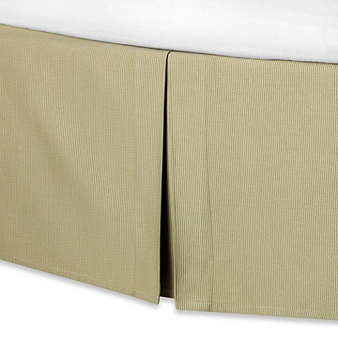 Real Simple® Linear Bed Skirt in Sage