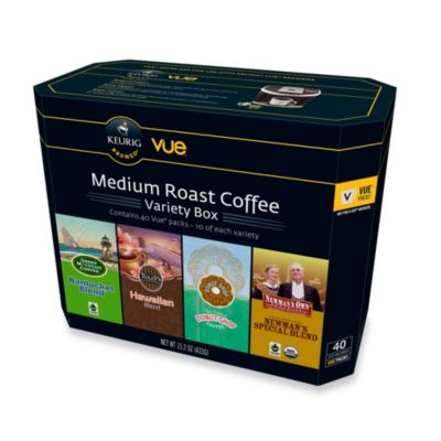 Keurig® 40-Count Medium Roast Coffee Vue® Variety Box