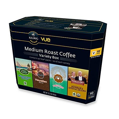 Keurig 174 40 Count Medium Roast Coffee Vue 174 Variety Box