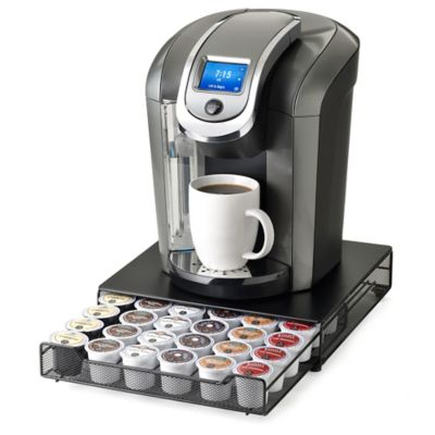 """Keurig Brewed"" Under the Brewer 36 K-Cup Capacity Rolling Drawer by Nifty™"