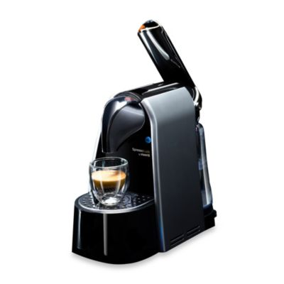 Viante Spresso Luxe Coffee Capsule Machine in Silver