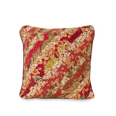 Stanfield 18-Inch Square Toss Pillow in Burgundy