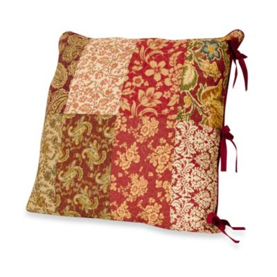 Burgundy European Pillow
