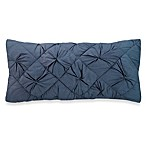 DKNY Diamond Tuck Oblong Toss Pillow in Sapphire