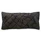 DKNY® Diamond Tuck Oblong Toss Pillow in Charcoal
