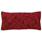 DKNY® Diamond Tuck Oblong Toss Pillow in Crimson