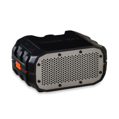 Braven BRV-1 Portable Waterproof Wireless Speaker in Black/Orange/Gray