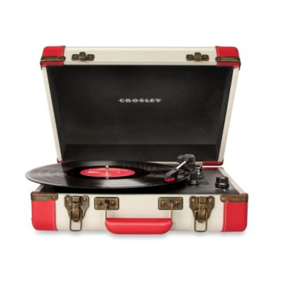 Crosley Executive Portable USB Turntable in Brown