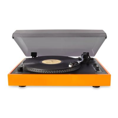 Orange USB Turntable