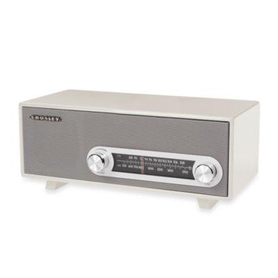 Crosley Ranchero Tabletop Radio in White