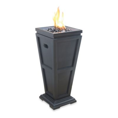 28-Inch Outdoor Gas Firepit