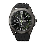 Seiko Men's Millennial Solar Chronograph in Black