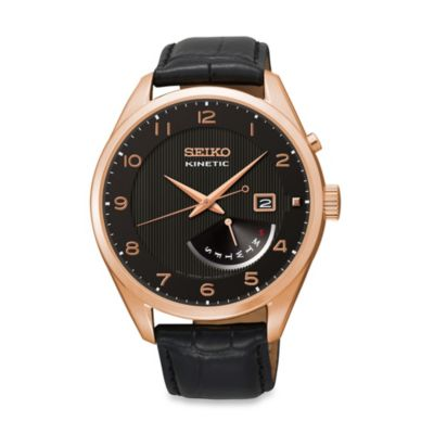 Seiko Men's Kinetic Retrograde Watch