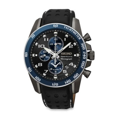 Seiko Men's Alarm Chronograph Sportura Watch