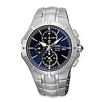Seiko Mens Solar Alarm Chronograph Watch