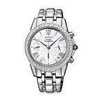 Seiko Ladies Le Grand Solar Chronograph Watch