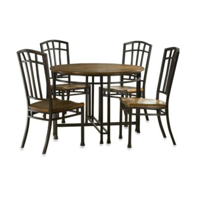 Home Styles Oak Hill 5-Piece Dining Set