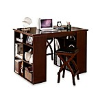 Verona Home Solid Wood 3-Piece Desk and Dining Set