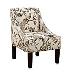 Skyline Furniture Swoop Arm Chair in Roberta Winter