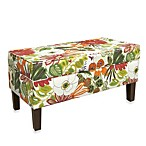 Skyline Furniture Storage Bench in Lilith Marigold